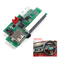 6-20 V Placa do Módulo Leitor De Cartão do Bluetooth Rádio Bluetooth Música Speaker Player Com Amplificador E Exposição de Tensão Para carro