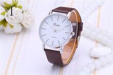 2015 bien conocida marca de relojes de lujo reloj de los hombres de moda de cuero reloj de hombre reloj de cuarzo del movimiento de Japón de alta calidad envío gratis