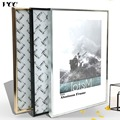 Рамка для фотографий, настенное искусство, Классическая алюминиевая рамка A4 A3 для постера, настенная металлическая фоторамка, рамка для сер...