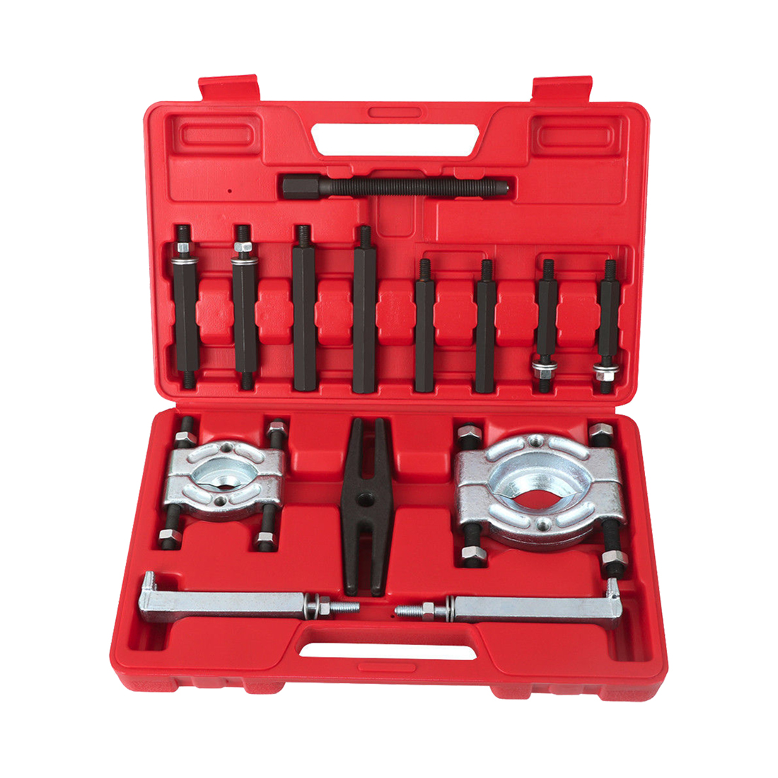 Bearing Puller Separator Set 2 ; 3 Splitters Long Jaw Gear Pulley Removal BarBearing Puller Separator Set 2 ; 3 Splitters Long Jaw Gear Pulley Removal Bar