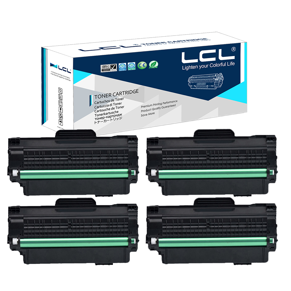 LCL  MLT-D115L D115L MLT-D115 115L (3-Pack) Black Laser Toner Cartridge Compatible for  Samsung SL-M2620/2820/M2670/2870 king kong футболка