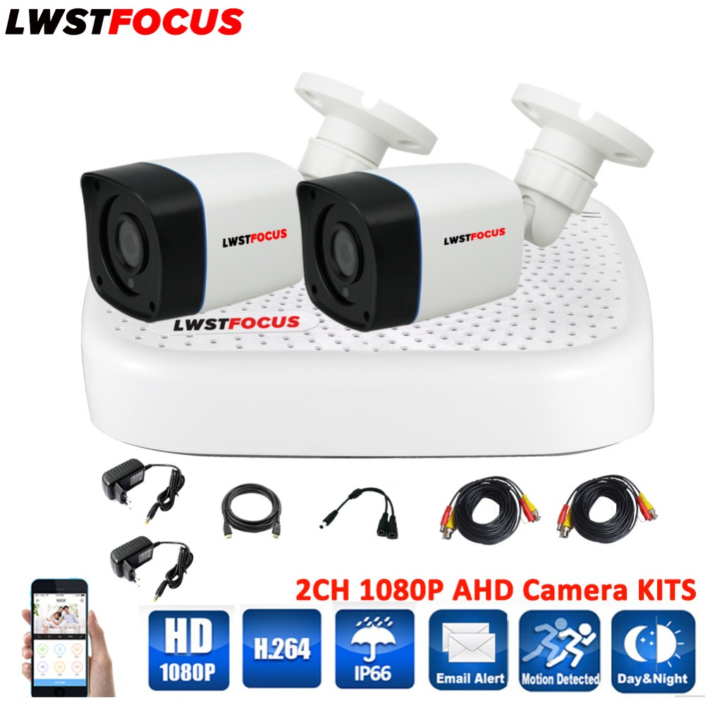 4CH AHD 5 IN 1 Security XVR DVR System HDMI 1920*1080P 3000TVL AHD Weatherproof Outdoor CCTV Camera 2.0MP AHD Surveillance Kit кроссовки asicstiger asicstiger as009auztu70
