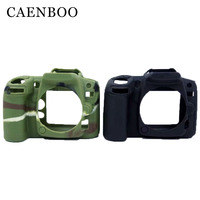 CAENBOO Camera Bag Soft Silicone Rubber Camera Bag For Nikon D90 Cameras Body Cover Case Skin