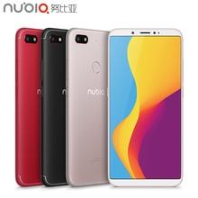 Original Nubia V18 Mobile Phone 6.01″ Full Screen 4GB RAM 64GB ROM Snapdragon 625 Android 7.1 Camera 13.0MP 4000mAh Smartphone