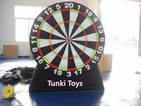 3m high popular inflatable football dart game