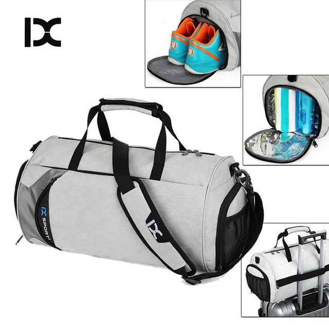 GYKZ Portable Training Basketball Bag Large Capacity Sport Fitness Gym Bag With Independent Shoes Pocket Unisex Duffle Bag HY033