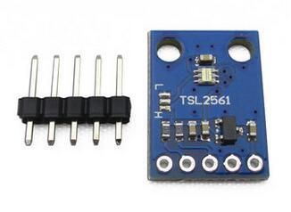Free Shipping!!! 5pcs GY-2561 TSL2561 Intensity Module / Sensor Module
