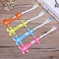 4 Pçs/lote Higiene Bucal Limpa de Cerdas Macias escova Crianças Escova de Dentes Do Bebê Treinamento Crianças Catoon Carros Criança Escova de Dentes escova de Dentes Macia