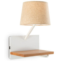 Креативный usb зарядный Настенный бра современный светодиодный светодио дный настенный светильник Железный деревянный набор Настольный пр