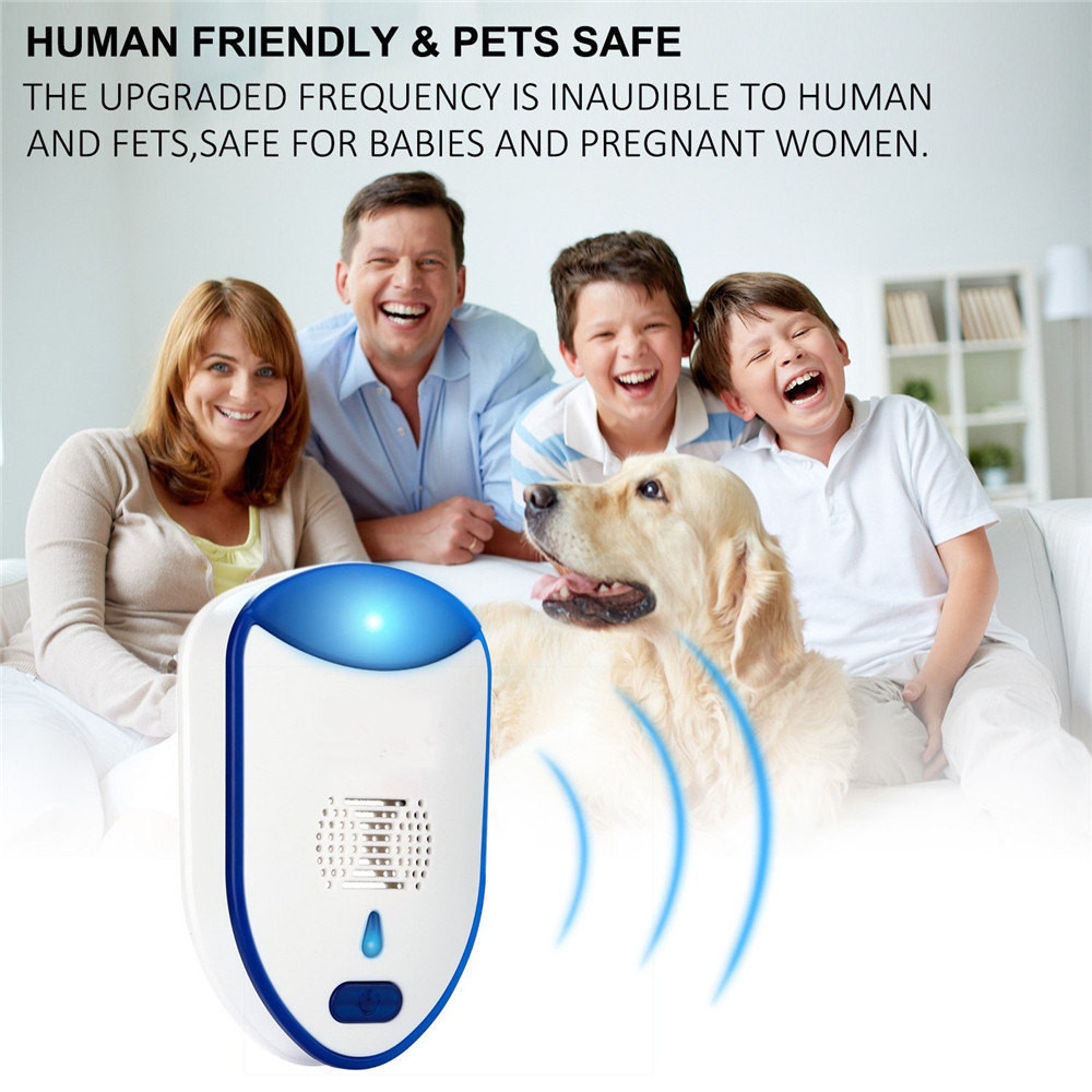 Image 5 - Convenient ultrasonic repeller repellent deterrence chase repellent environmental protection solar garden pest animal repeller-in Repellents from Home & Garden