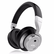 Cheapest iDeaUSA V200 Active Noise Cancelling ANC Bluetooth Headphone Over Ear HiFi Wireless Headphones with Mic up to 16 Hours Play Time