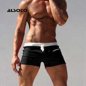 Swimwear Men Briefs Mayo Swimming-Trunks Beach-Shorts ALSOTO Zwembroek Heren Maillot-De-Bain