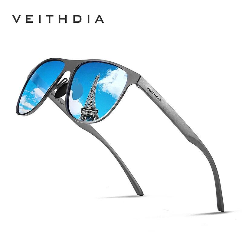 a74c9b2a26bb1 Nova Marca Unisex Aço Inoxidável Óculos De Sol Polarizados VEITHDIA Óculos  Acessórios Óculos de Sol Óculos