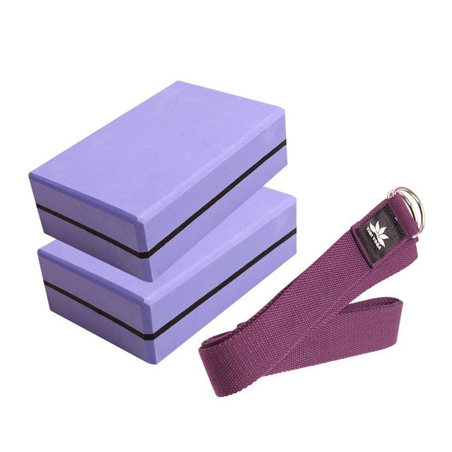 Yoga Block – High Density EVA Foam Block and Fitness Exercise