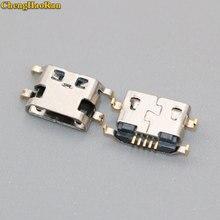 ChengHaoRan 1-10X For Alcatel 7040N 4033D OT6012 6035R One Touch Idol POP C3 micro usb jack power charging port connector socket