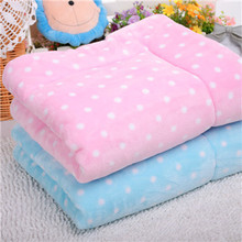 Hot Sale Soft Fleece Winter Warm Pet Dog Blanket Cotton PP Padded Large Dog Bed Dog Print Puppy Cushion S/M/L Mascotas