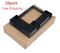 10pack Express Free Shipping 661914 001 2.5 to 3.5 SSD Adapter Converter For HP GEN8/G9 G8 651314 001 SAS/SATA Tray Caddy