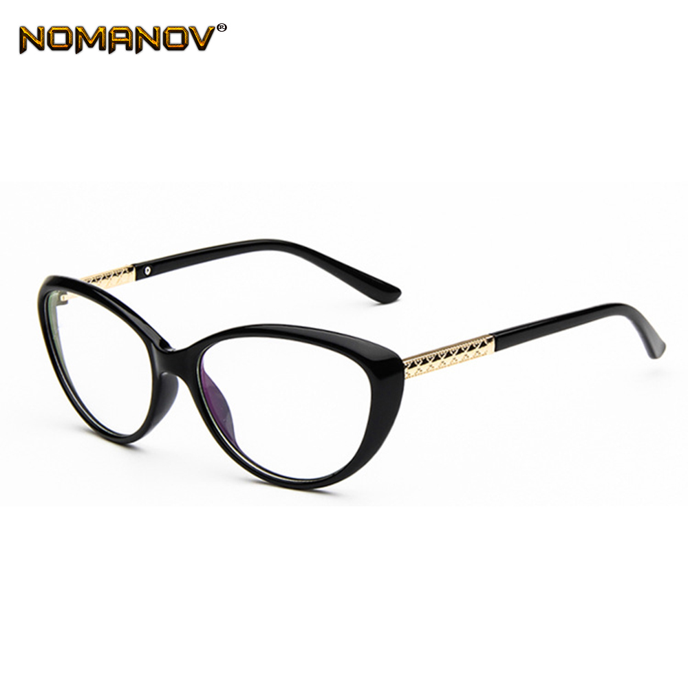 Spectacles Optical-Lenses Personality-Cateyes-Frame Classic Promotion Photochromic Gray/brown