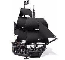 Лепин 16006 Пираты Карибского моря черный жемчуг Модель Набор строительных Блоки Наборы забавные кирпичи развивающие Игрушечные лошадки для Обувь для мальчиков подарки