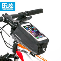 NEW Roswheel 5 2 5 7 Bicycle Phone Bag Reflective Bike Frame Front Tube Bag Cycling