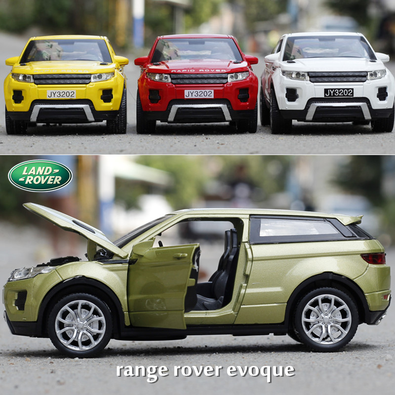 1 32 Car Alloy Model SUV For Evoque Diecast Toys Vehicle Collection Kid Gifts Supercar Model