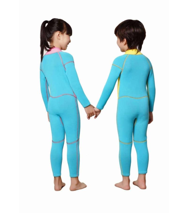 Tam Tulum Mayo Çekirdek Isıtıcı 2mm Tek parça Wetsuits Neopren Gençlik 2019 Premium S/M/L /XL gençlik Pembe Sarı Kısa