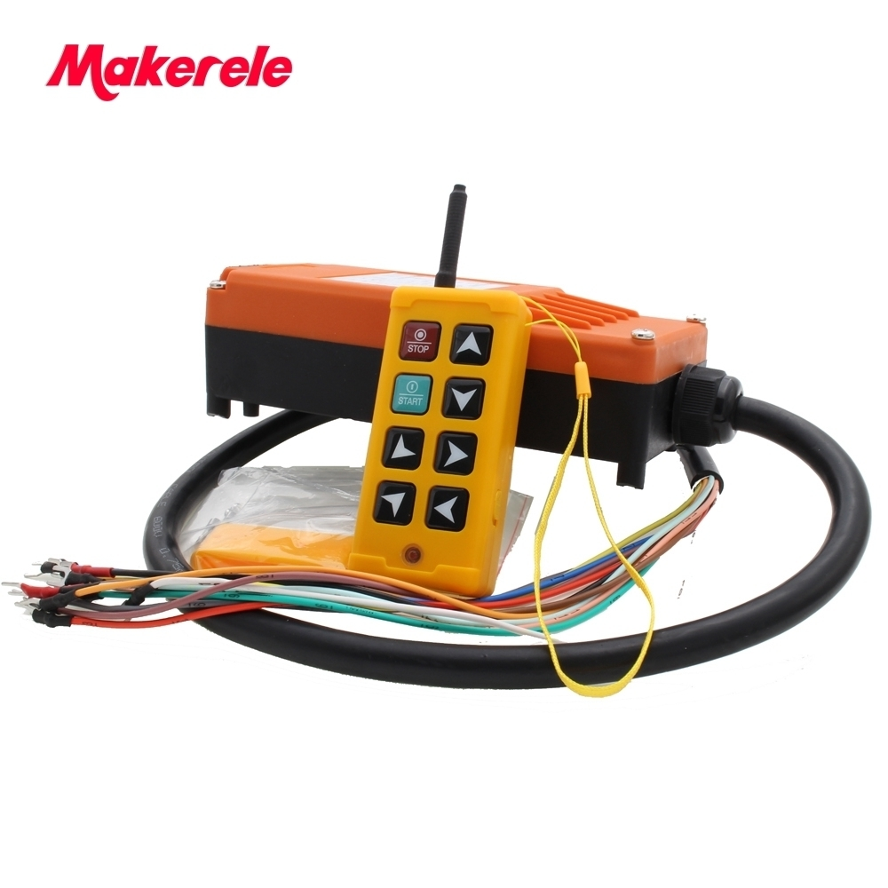 Industrial Remote Control Crane Wireless redio control1 Transmitter 1Receiver for 310-331mhz,425-446mhz for truck hoist crane цена