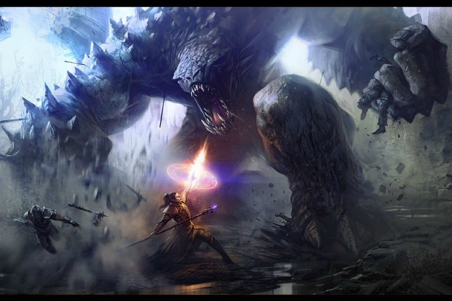 Godzilla Battle Monster by StaplesART on DeviantArt