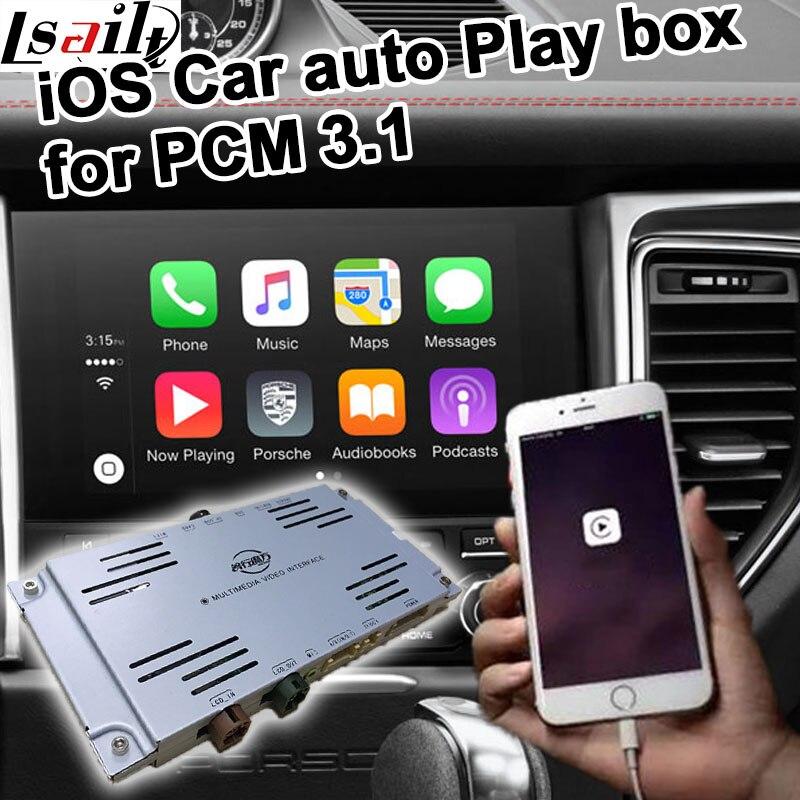 Voiture auto jouer boîte pour Porsche PCM 3.1 Cayenne Macan Pana mera 911 etc pour carplay sur Porsche