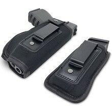 ปกปิด Carry Gun HOLSTER กระเป๋า Universal Neoprene IWB HOLSTER พิเศษ MAG HOLSTER POUCH สำหรับขนาดปืนพกการล่าสัตว์