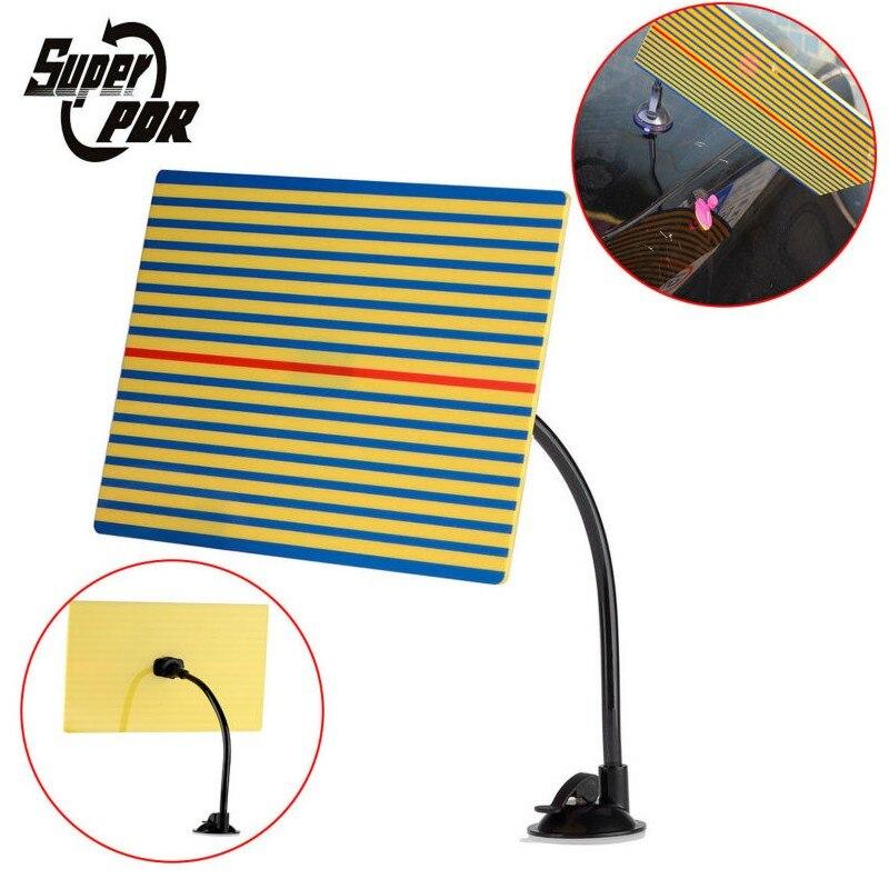 Super PDR Ausbeulen ohne Reparatur Reflektor Linie Bord Dent Entfernung Werkzeuge Beste PDR Lampe Reflektor Bord Hand Werkzeuge Set Ferramentas