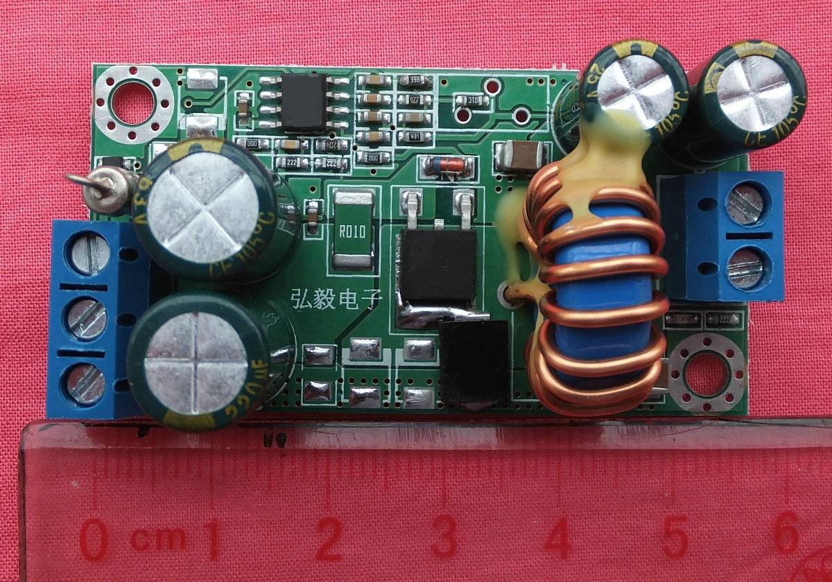 DC/DC step-down power module 24V 48V 12V 9V 5V 3.3V current 36V switch 3A цена и фото