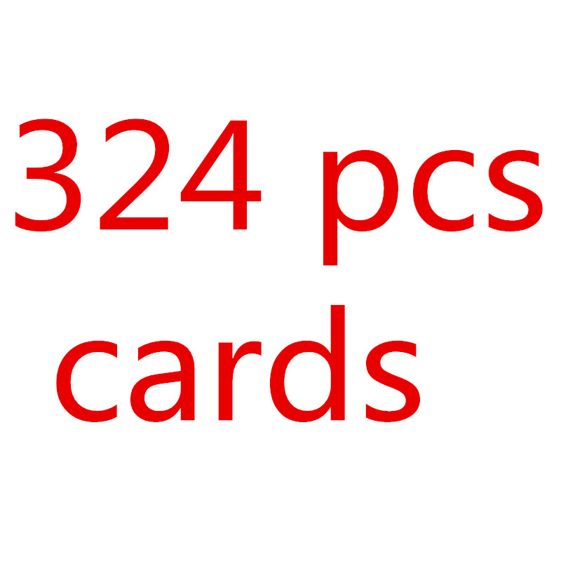 324pcs/set Anime English Words Cards EX XY mega Card Figures Collection Game Cards Gifts Kids Toys Pikachu card 2017 new cards 42pcs set poke go mons card game english anime pokemoned cards with metal box best toy for children free shipping