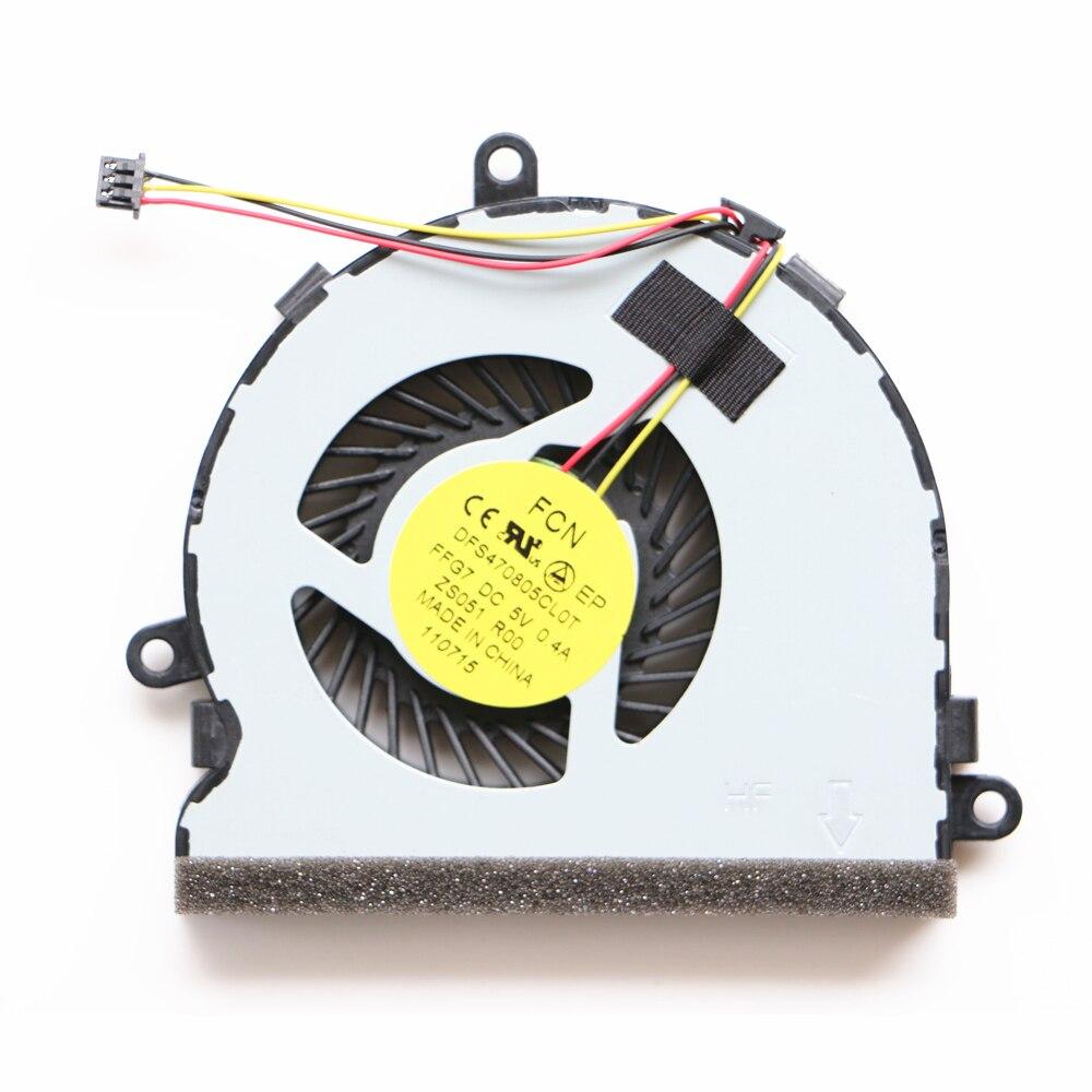 Nuovo Originale Ventola della Cpu Per HP 15-G000 15-G100 15-R000 15-R100 250G3 246G3 Ventola di Raffreddamento della Cpu DFS470805CL0T FFG7 753894-001