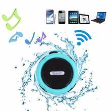 C6 Outdoor Wireless Bluetooth 4.1 Stereo Portable Speaker Built in Mic Shock Resistance IPX4 Waterproof Louderspeaker