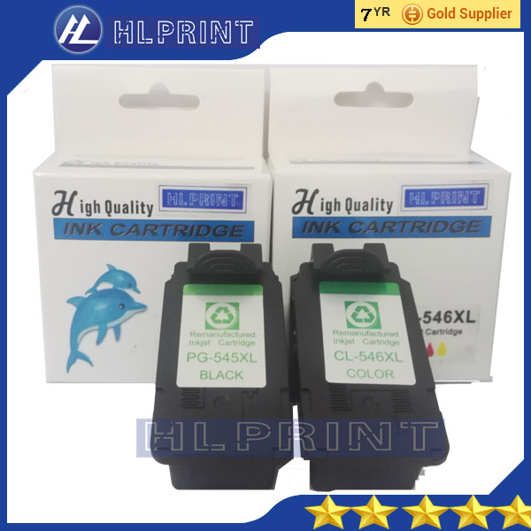2pcs ink cartridge PG545xl  CL546XL pg545 cl546 compatible for canon IP2850 MG2450 MG2550 MG2950 3bk 1c pg245 cl246 ink cartridge pg 245 cl 246 xl for canon pixma mg2520 mg2922 mg2450 mg2920 ip2850 ip2850 inkjet printer