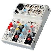 Digital Mixing Console Karaoke Universal Mixer Mono Stereo Microphone Adjusting Panel