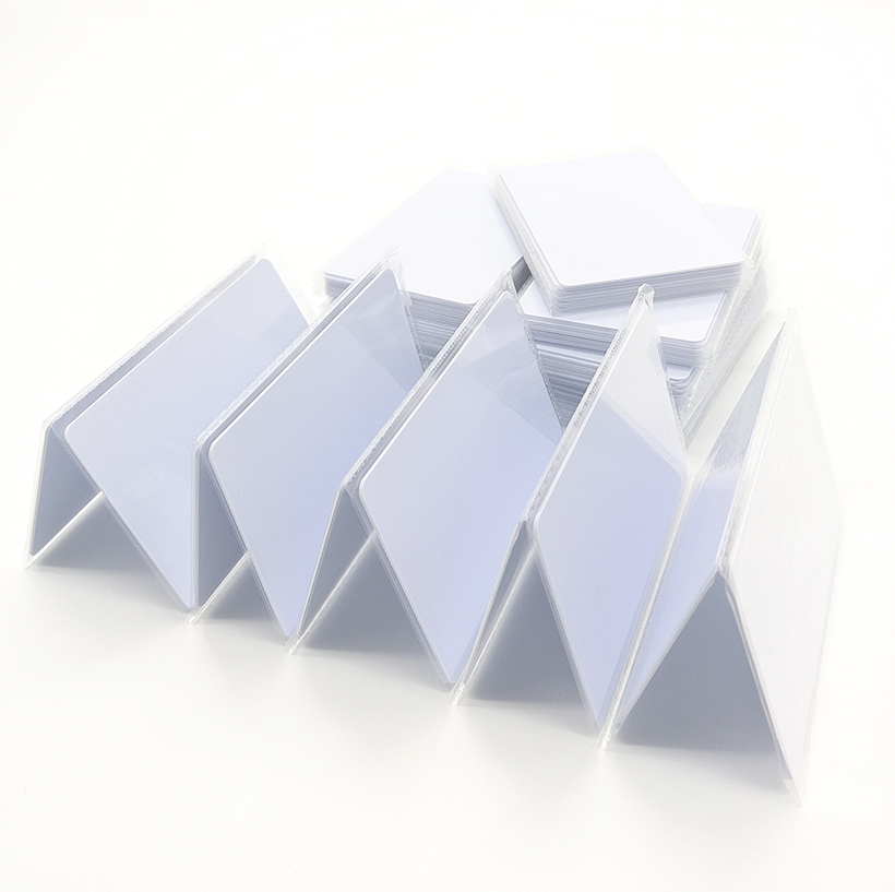 50pcs RFID Card 13.56Mhz MFS50 Re-writable Proximity Smart Cards ISO14443A NFC Cards 0.8mm For Access Control System