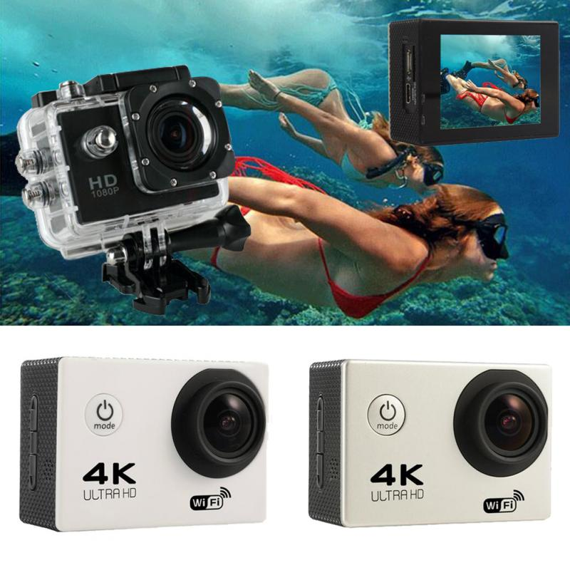 "F60 Allwinner 4K Action camera V3 4K/30fps 1080P/60fps 720P/120fps WiFi 2.0"" 170D Helmet Cam underwater go waterproof pro camera"
