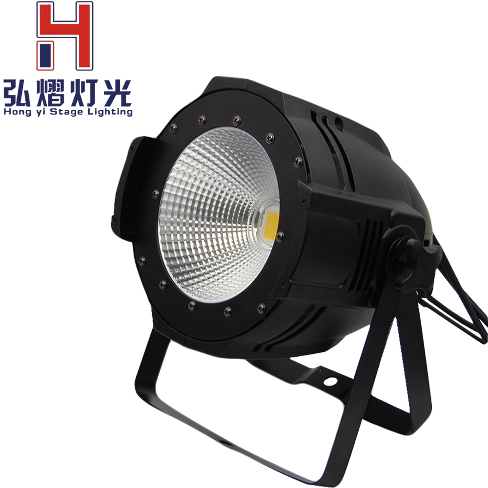 Latest LED Par COB 100W With Barn Door High Power Aluminium Case Stage Lighting with 100W COB ,cool white and warm white 2pcs 2018 nwe led par cob 100w with barn doors high power aluminium case stage lighting with 100w cob cool white and warm white