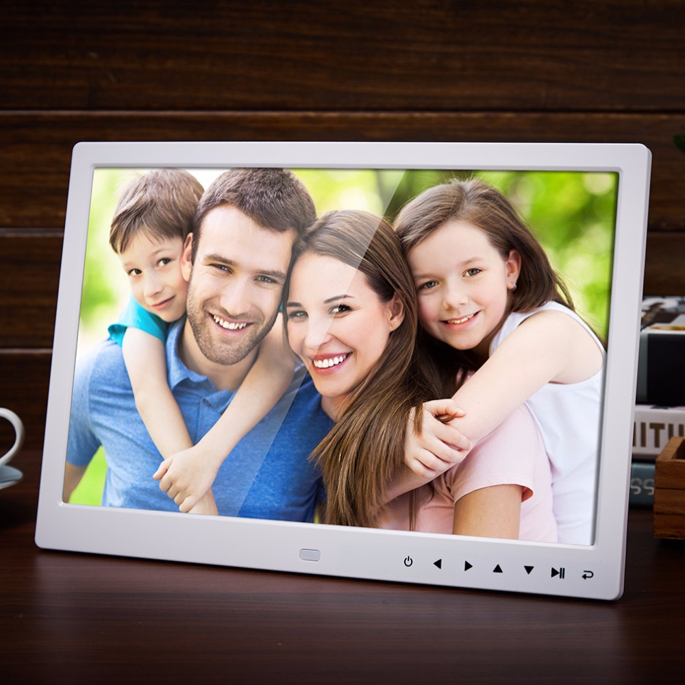 13 Inch 1280*800 HD Front Touch Digital Photo Frame High Resolution Wide Screen Picture Frame Photo Album Frame 10 inch ultra thin digital photo frame