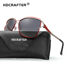 HDCRAFTER New Women Sunglasses Brand Designer Fashion Glasses Ladies Sun High Quality Selection Eyewear