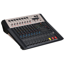 Mixing console recorder 48 V phantom power monitor AUX effect path 6-16 channel audio mixer USB comes with power amplifier LV