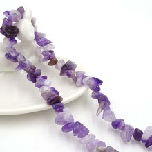 Imitated Amatista Orchid Color Beads Stone Accessories For Make Bracelet Necklace Cabuchones 1 String