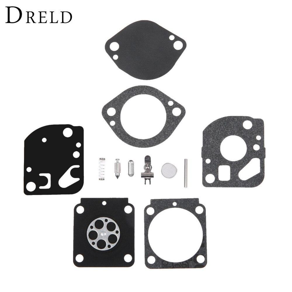 DRELD RB-132 Carburetor Diaphragm Gasket Rebuild Repair Kit For STIHL BR500 550 & 600 For ZAMA C1Q-S72 C1Q-S72B C1Q-S81 C1Q-S88