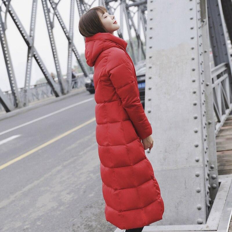 D'hiver De Grande Green Longue Femme Chaud Noir Plus Casual Gkfnmt Capuche 6xl Manteau Parka Femmes army 2018 Canard blanc Taille M rouge gris Duvet Veste w6BPZIqz