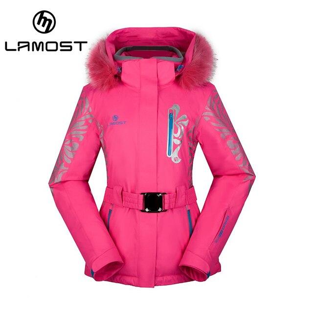 watch dbe5b 2d011 US $381.0 |Lamost donna inverno neve pelliccia giubbotti da neve giacca da  sci impermeabile antivento sci caldo inverno cappotto di sport all'aperto  ...
