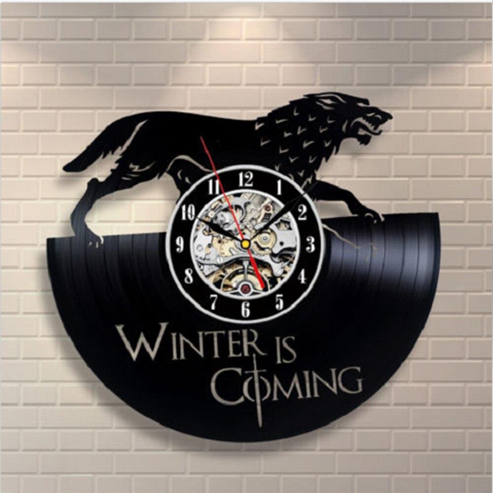Vintage Vinyl Wall Clock CD Record Classical Clock ...