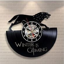 Vintage Vinyl Wall Clock CD Record Classical Clock Artistic Home Decor Creative Large Clocks Quartz Mechanism Horloge Murale