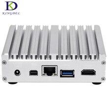 Новые lauch безвентиляторный мини-ПК i7 5500U 4602Y NUC Intel HD Graphics Micro настольный компьютер Windows 10 двойной уход i5 5200U tv box
